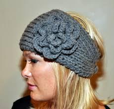 crochet ear warmer headband ear warmer headband headwrap choose color knit crochet wool winter