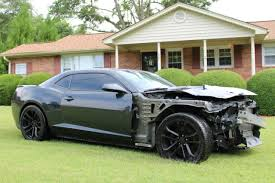 wrecked camaro zl1 for sale 2012 chevrolet camaro zl1 coupe 2 door lsa 6 2l supercharged