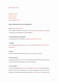 ms word format resume appointment letter format in word amazing resume microsoft