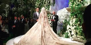 russian wedding inside russian oligarch s s 7 7 million oscars inspired