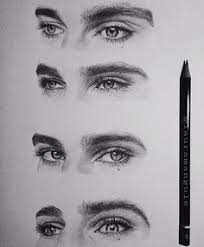60 beautiful and realistic pencil drawings of eyes drawings of