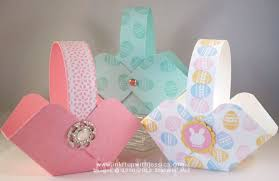 easter baskets to make make easter baskets ink it up with card ideas