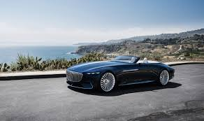 classic mercedes convertible vision mercedes maybach 6 cabriolet is 20 feet of electric drop