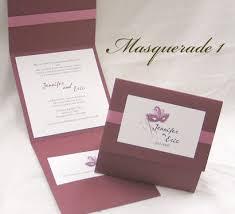 masquerade wedding invitations wedding invitation masquerade1 burgundy linen