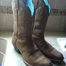 ariat womens cowboy boots size 12 41 ariat boots ariat s authentic cowboy boots from