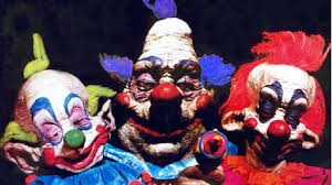inside out jangles the clown gif insideout janglestheclown the scariest screen clowns created ranked