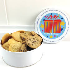 happy birthday cookie gift with 2 lbs fresh baked cookies the