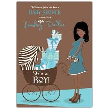 82 best baby shower invites images on pinterest african american