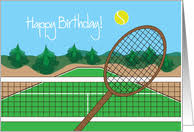 tennis greeting cards from greeting card universe