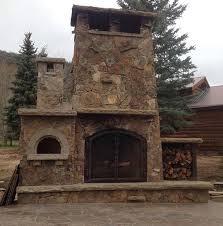 Pizza Oven Outdoor Fireplace by Vinzant Outdoor Fireplace And Wood Fired Pizza Oven