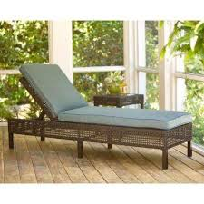 Patio Chaise Lounge Wicker Patio Furniture Hampton Bay Outdoor Chaise Lounges