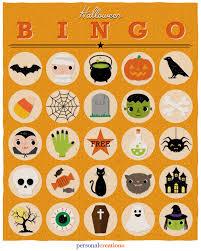 halloween bingo game personal creations blog