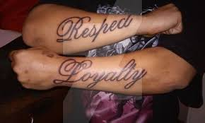 respect and loyalty tattoos by trgpunisher on deviantart