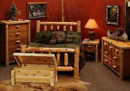 Traditional Bedroom Ideas - cedar traditional bedroom furniture set for rustic bedroom decor
