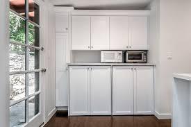 kitchen remodeled studio city with barn door pantry eden builders