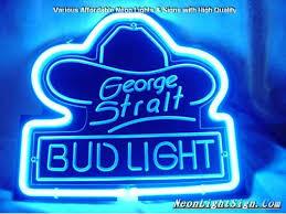 bud light neon light george strait bud light 3d beer bar neon light sig beer bar neon