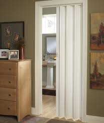 bifold bathroom doors for small spaces with frosted glass