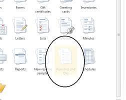 Resume Template Word How To Set Up A Resume Template In Word 2013 Ms Office