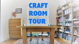 craft room tour budget makeover storage and organization ideas