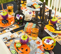halloween placemat pottery barn kids