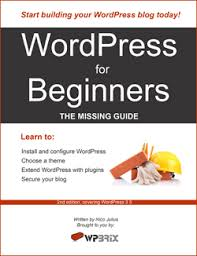 tutorial wordpress com pdf wordpress for beginners the missing guide a free pdf ebook for