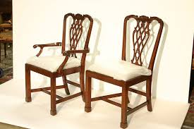 Chippendale Chair by Leg Chippendale Dining Chairs With Fluted Legs