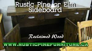 Mennonite Furniture Kitchener by Rustic Elm Sideboard Mennonite Made Rustic Elm Sideboard