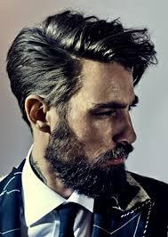 men medium length hairstyle