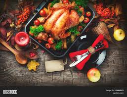 thanksgiving dinner thanksgiving turkey served table