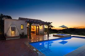 spanish style ranch homes hope ranch spanish style custom home outdoor living space