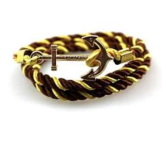 anchor braided bracelet images Braided anchor bracelet culture attire jpg