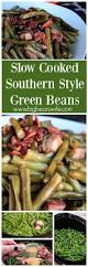 soul food thanksgiving recipes slow cooked southern style green beans southern string beans