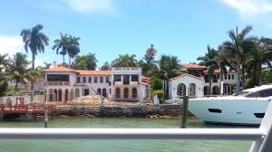 Celebrity Houses In Miami Beach Celebrity Star Island Miami Waterfront Mansions Cruise Tour Part