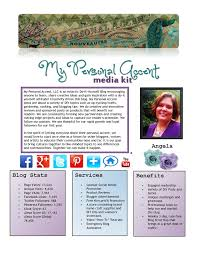 How To Write A Resume For A Promotion 20 Example Blog Media Press Kits For Your Inspiration Blog