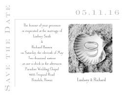 wedding invitation ideas lovely blue beach wedding invitations