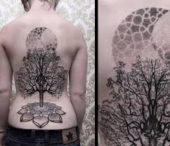 back tree by chaim machlev design of tattoosdesign