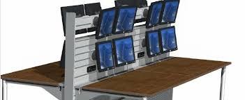 mobilier de bureau informatique steelnovel mobilier de supervision