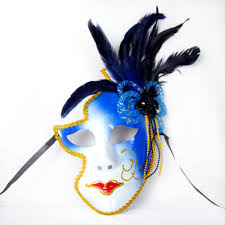 halloween feather masks wholesale sale halloween party anime masks full face venice