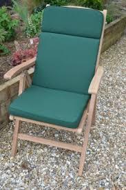 Garden Recliner Cushions Classic Garden Recliner Chair Seat Pad And Back Cushion Cushion