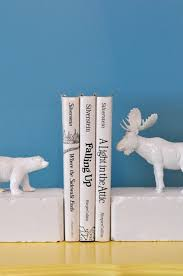 Unique Book Ends 44 Cool Diy Bookends That Are Easy To Make