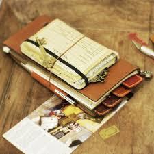 travel notebook images Eral travelers notebook standard orange chinas network marketing jpg