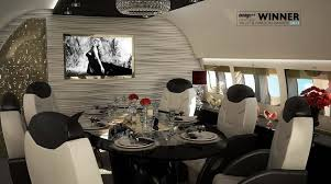 luxuriously design your private jet with airjet