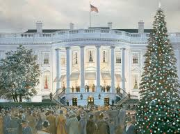 the white house christmas tree lighting ceremony december 1941