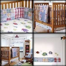 Pottery Barn Madras Crib Bedding by Crib Bedding Fish Creative Ideas Of Baby Cribs