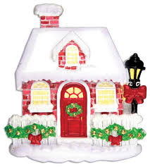 personalizable home new brick house ornament contemporary