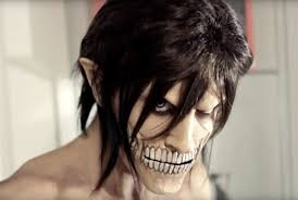 voice changer spirit halloween attack on titan diy eren jaeger makeup effects for halloween