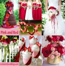 wedding colors pink wedding color twelve combinations exclusively