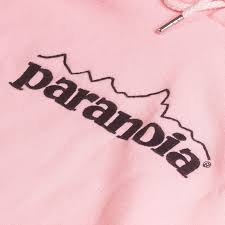 parca equipped paranoia hooded sweatshirt classic streetwear