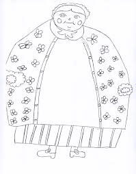 little old lady printables kristen u0027s kindergarten