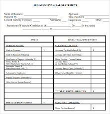 quarterly report template small business sle financial statement 7 documents in pdf word